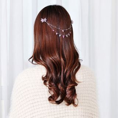 Missy Missy - Embellished Clover Headpiece with Hair Claw