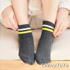 CherryTuTu - Striped Socks
