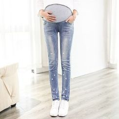 Mamaladies - 孕婦修身鉛筆褲