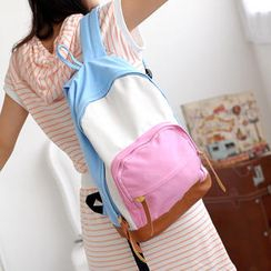 59 Seconds - Color-Block Backpack