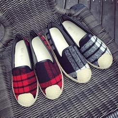 Ginko - 格子輕便鞋