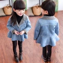 Princess House - Kids Faux Suede Coatdress