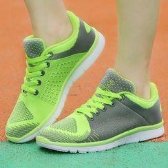 Renben - Florescent Mesh Sneakers