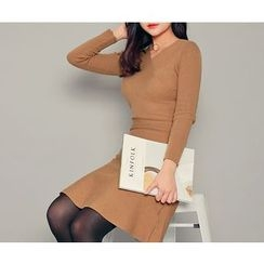 HOTPING - A-Line Knit Dress