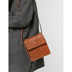 FROMBEGINNING - Flap Square Crossbody Bag