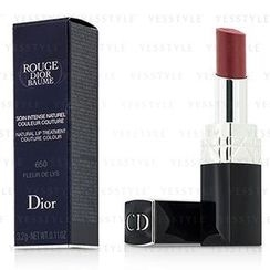 Christian Dior 迪奥 - Rouge Dior Baume Natural Lip Treatment Couture Colour - # 650 Fleur De Lys