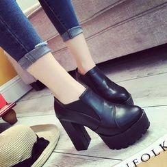 楊董 - 高跟及踝靴