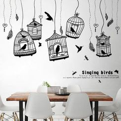 LESIGN - Birdcages Wall Sticker