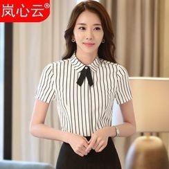 Skyheart - Short-Sleeve Shirt / + Skirt