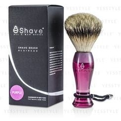 eshave - Finest Badger Long Shaving Brush (Purple)