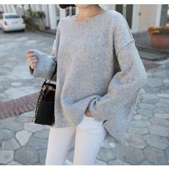 Miamasvin - Dolman-Sleeve Fleece Pullover