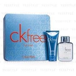 Calvin Klein - CK Free Coffret: Eau De Toilette Spray 50ml/1.7oz + Hair and Body Wash 100ml/3.4oz