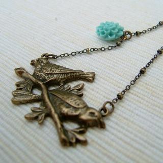 MyLittleThing - Couple Birds Necklace