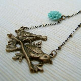 MyLittleThing - Couple Birds Necklace