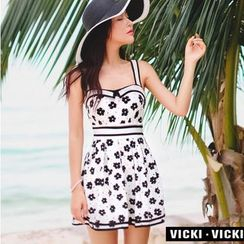 Vicki Vicki - 印花裙式泳装