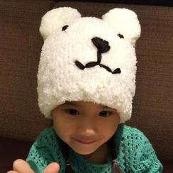 华娟 - 儿童小熊无边帽