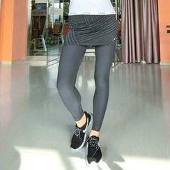 Morning Body - Plain Sports Leggings