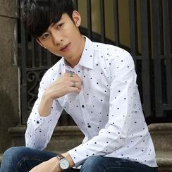 Kunji - Long-Sleeve Printed Shirt