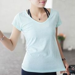 Morning Body - Quick Dry Short-Sleeve Top
