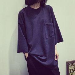 Cloud Nine - 圆领长T恤