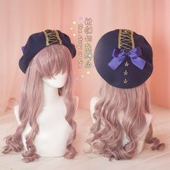 AOI - Bow-Accent Beret