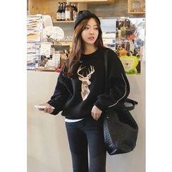 REDOPIN - Deer Print Sweatshirt
