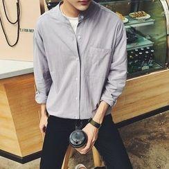 子俊 - 立领长袖衬衫