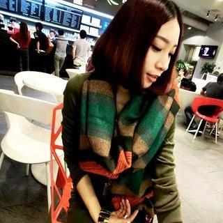 JVL - Fringed Stripe Wool-Blend Scarf