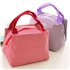 Momoi - Striped Lunch Bag
