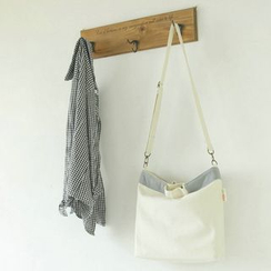 Ms Bean - Two-Tone Canvas Shopper Bag