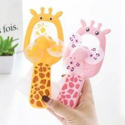 Stationeer - Giraffe Mini Hand Fan