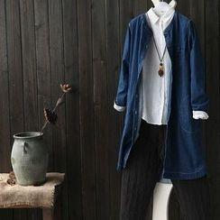 Rosadame - Denim Long Jacket