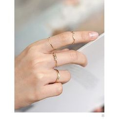 PINKROCKET - Set of 4: Rings