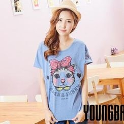 YoungBaby - Short-Sleeve Printed T-Shirt