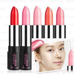 LadyKin - One Touch Bling Glow Lipstick (#03 Strawberry Pink)