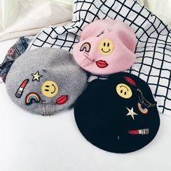 Hunter Jones - Smiley Beret Hat