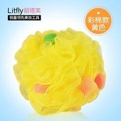 Litfly - Bath Pouf