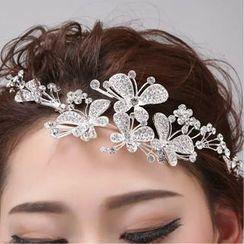 Sky n Sea - Embellished Wedding Tiara