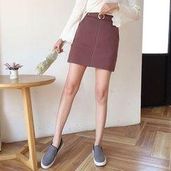 Mayflower - Plain A-Line Skirt