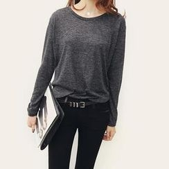 NANING9 - Crew-Neck Knit Top