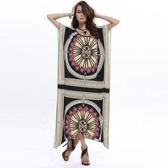 Hotprint - Print Maxi Dress