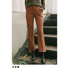 10WORLD - Flat-Front Dress Pants