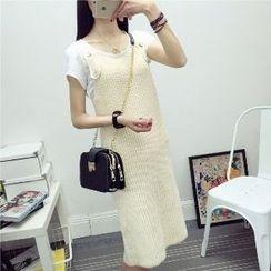 Knitemps - Knit Suspender Dress