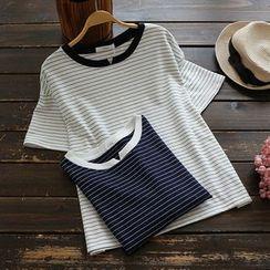 YOYO - Short-Sleeve Striped T-Shirt