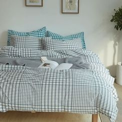 LA SHOP - Bedding Set: Duvet Cover + Bed Sheet + Pillowcase