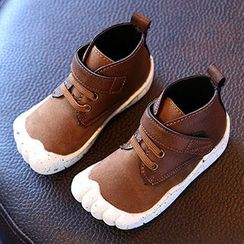 Luco - Kids Velcro Lace Up Boots