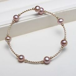 ViVi Pearl - Freshwater Pearl Bangle