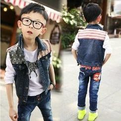 Lullaby - Kids Panel Denim Vest