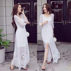 Amella - Lace Maxi Dress