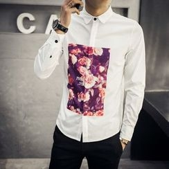 SICRIT - Print Long-Sleeve Shirt